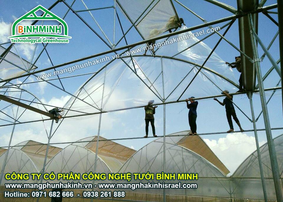 Kết cấu và cấu trúc nhà kính công nghệ cao Israel