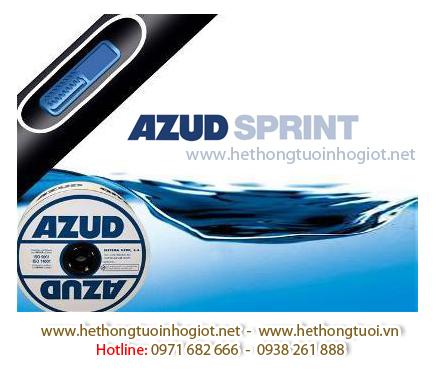 Dây nhỏ giọt Azud Sprint 160/1.6L-0.30mm - 0.40m