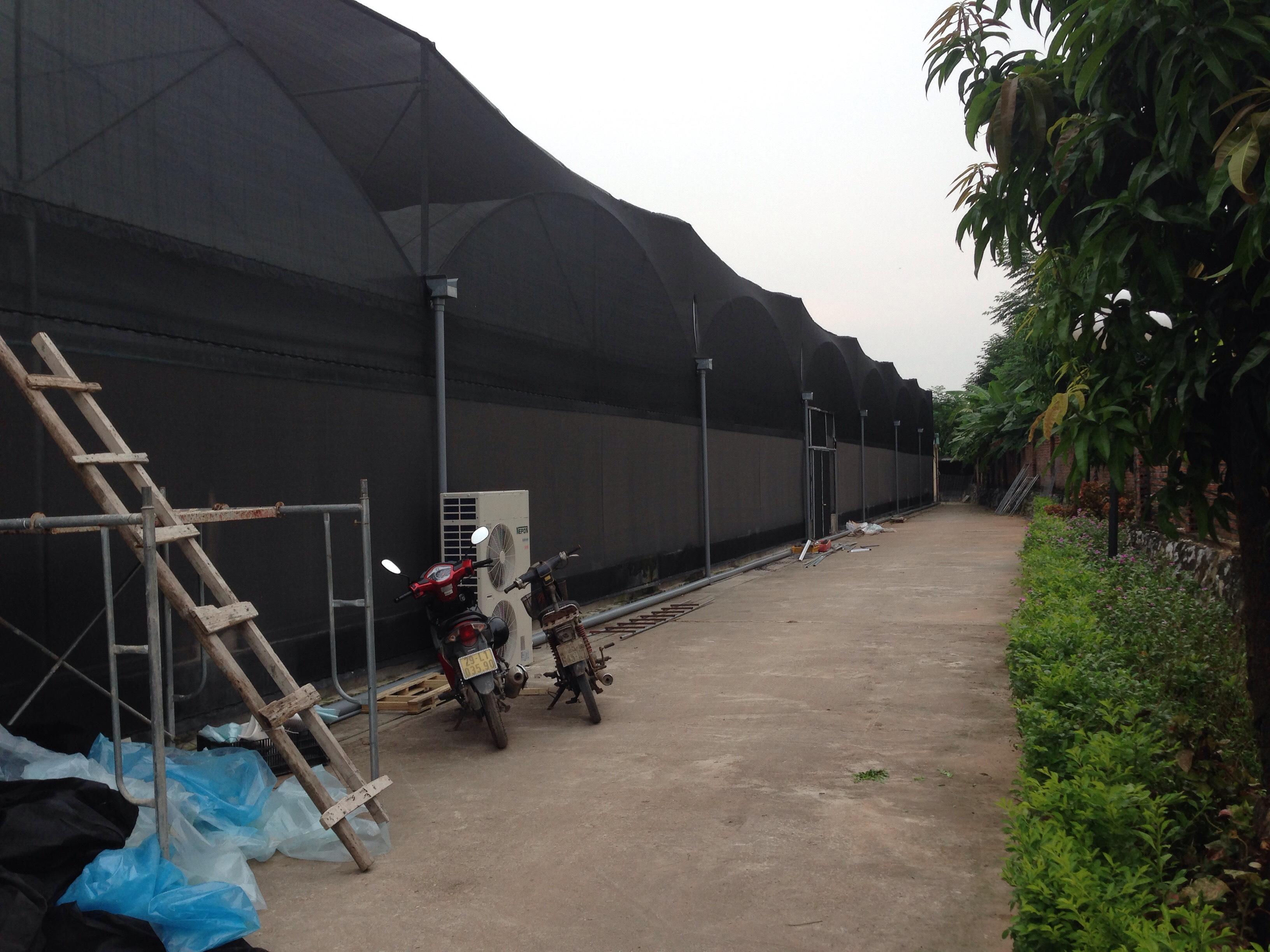 nhà cung cấp lưới che nắng giá rẻ tại hà nội, công ty thiết kế và thi công lưới che nắng, hệ thống tưới cắt nắng
